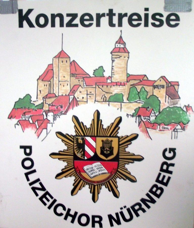 2006; Der Polizeichor Nürnberg in Polen
