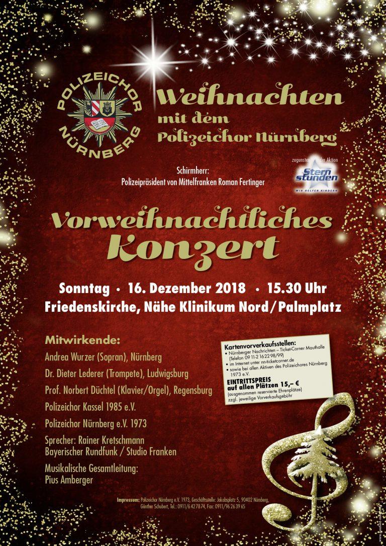 Vorweihnachtliches Konzert des Männerchors